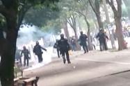 A menor de edad que participó en marchas en Medellín se le estalló una papa explosiva