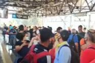 Daño de una catenaria afecta la movilidad del Metro de Medellín
