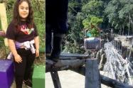 Niña de 13 años cayó al río Cauca desde una garrucha en Briceño, Antioquia