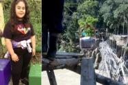 El incidente ocurrió en Briceño y el cadáver de la adolescente fue hallado en Tarazá.
