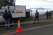 El cuerpo sin vida fue hallado por un vigilante del sector.