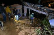 Por las lluvias en Venecia hay quince derrumbes que tienen en riesgo a la comunidad.