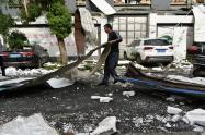 Derrumbe de hotel en China