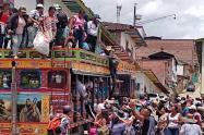 Desplazados Ituango, Antioquia.
