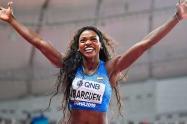 Caterine Ibargüen se metió a la final del salto triple de los Olímpicos