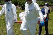 Hallan cadáver de una mujer en el río Medellín