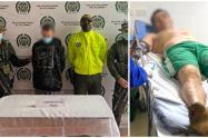 Uno de los prófugos fue lesionado con arma de fuego al intentar huir de las autoridades.