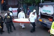 Este homicidio fue perpetrado en zona urbana de este municipio del norte del departamento.