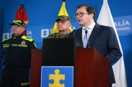 Entregan resultados del ataque terrorista a la Brigada 30 y al helicóptero presidencial