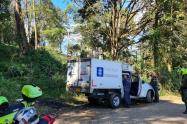 Mujer asesinada en Caldas, Antioquia