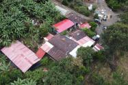 Laboratorio de cocaina en Icononzo