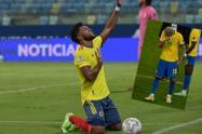 Miguel Ángel Borja y su particular burla a Neymar por sus lágrimas tras perder