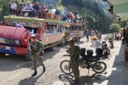 En ese municipio más de 4000 mil personas han sido desplazadas por amenazas de grupos armados
