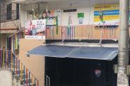 Centro infantil donde denunciaron el presunto abuso sexual de 14 niños en Medellín.