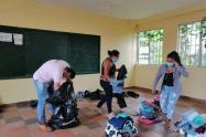 Referencia campesinos desplazados en Ituango, Antioquia.