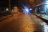 Inundaciones en Nechí, Antioquia.