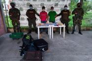 Dos peruanos llevaban 29 kilos de cocaína del Clan del Golfo en el Urabá antioqueño