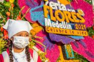 Con el 'Desfile de Silleteritos' inició la Feria de las Flores en Medellín.
