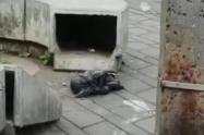 Hallaron el cadáver de un bebé dentro de una bolsa en el centro de Medellín