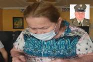 """""""Ese señor no tenía por qué matar a mi hijo"""": Amparo Soto, madre del patrullero Sabogal"""