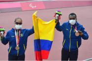 Angie Pabón, para-atleta colombiana