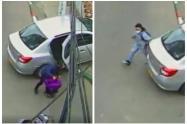 Quedaron grabadas tras asesinar al conductor del vehículo en que se movilizaban