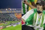 Por falta de una orden de captura, hincha de Atlético Nacional quedó en libertad