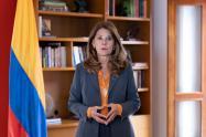 Vicepresidenta y Canciller, Marta Lucía Ramírez