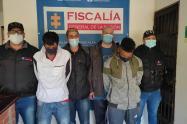 """Entre los capturados se encuentran alias """"Bola 8"""", señalado sicario de esta estructura, informaron las autoridades."""