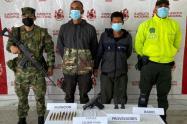 """Alias el """"Pollo"""" y el """"Zarco"""", son señalados de perpetrar varios delitos entre ellos homicidios selectivos, informaron las autoridades."""