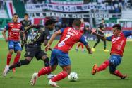 Once Caldas vs Medellín 2021-II; Copa Betplay