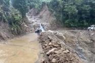 Cierre de vías de Ituango