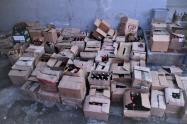 En estos operativos fueron incautadas más de 1.400 unidades de licor y más de 10.000 cajetillas de cigarrillos de contrabando.