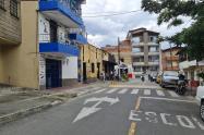Asesinaron a motociclista en el barrio Aranjuez de Medellín