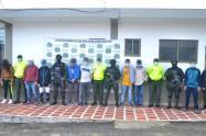 Dentro de los detenidos se destaca la de alias El Zurdo, señalado de perpetrar varios homicidios.