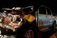 Accidente de tránsito en Gaira
