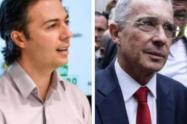 """Uribe arremetió de nuevo contra el alcalde de Medellín y lo trató de """"mentiroso y corrupto"""""""