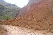 El invierno tiene incomunicado a 7.000 habitantes de Peque Antioquia