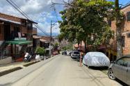 Murió de tres disparos en la cabeza en el barrio El Mirador de Bello
