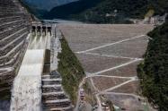 Proyecto Hidroituango en Antioquia.