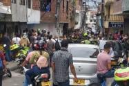 Balearon a joven de 26 años en el barrio Moravia de Medellín