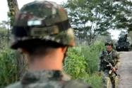 Combates en Ituango