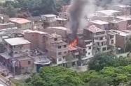 Incendio en la Iguaná