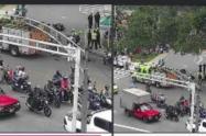 Las autoridades investigan las causas de este accidente de tránsito.