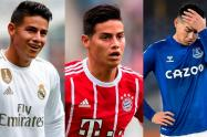 James- Real Madrid, Bayern y Everton