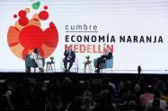 Comenzó en Medellín la tercera cumbre de la economía naranja, evento que impulsará el desarrollo industrial de la cultura
