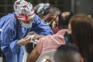 Hay preocupación de los habitantes que están sin inmunizar.