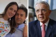 Álvaro Uribe mencionó a la gestora social en uno de sus trinos.