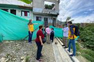 Invierno obliga a evacuar 40 viviendas en el nororiente de Medellín