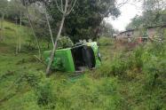 Las autoridades investigan los motivos que generaron este accidente de tránsito.